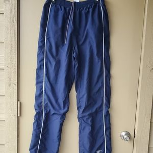 Mens Lined Blue Russel Atheltic Track Pants